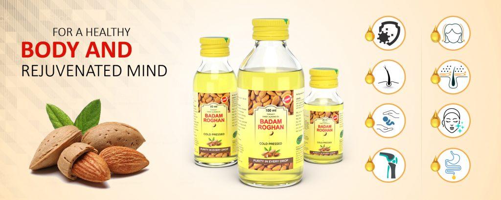 ayurvedic badam roghan oil