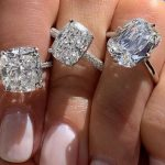 Three Diamond engagement Ring Shapes for the Modern Bride